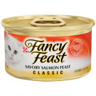 I247587-Fancy Feast Classic Savoury Salmon Feast Cat Food 85g