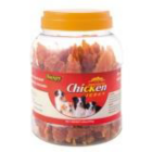 I248392-Wanpy Chicken Jerky Jar Dog Treats 908g