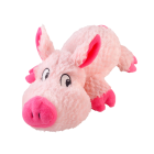 I248024-Cuddlies Pink Pig Small Dog Toy
