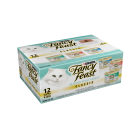 I247580-Fancy Feast Variety Pack Seafood Feast 12 Pack Cat Food