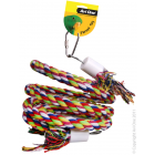 I150630-Avi One Coloured Rope Bird Toy 40cm