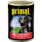 I152316-Primal Beef & Vegetable Dog Food 390g