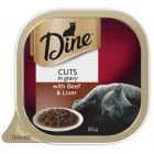 I247283-Dine Daily Cuts In Gravy With Beef & Liver Cat Food 85g