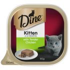 I240879-Dine Daily With Tender Chicken Kitten Food 85g
