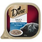 I247287-Dine Daily Saucy Morsels With Tuna Mornay & Cheese Cat Food 85g