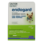 I246626-Endogard Worm Treatment For Dogs Under 5kg - 4 Tab Pack