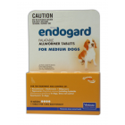 I246627-Endogard Worm Treatment For Medium Dogs 10-20kg - 4 Tab Pack