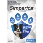 I246864-Simparica Flea Treatment For Dogs 10-20kg - Blue 3 Pack