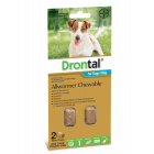 I246823-Drontal Chewable Worm Treatment For Medium Dogs 2 Pack