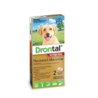 I246806-Drontal Worm Treatment For Dogs 20 To 35 Kg 2 Pack