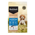 I249510-Black Hawk Grain Free Oceanfish Puppy Food 7kg