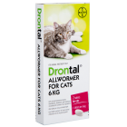 I246777-Drontal Worm Treatment For Cats 6kg 2 Pack