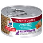 I246714-Hills Science Diet Healthy Cuisine Tuna & Carrot 11+ Adult Cat Food 79g