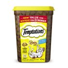 I242080-Whiskas Temptations Chicken Cat Treats Tub 454g
