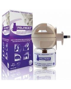 I111009-Feliway Cat Anxiety Diffuser With 48ml Refill