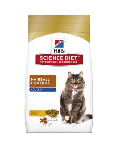 I247730-Hills Science Diet Hairball Control Senior Cat Food 2kg