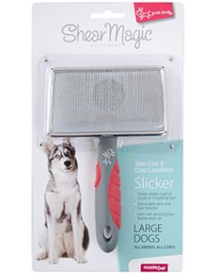 I154006-Shear Magic Slicker Brush For Large Dogs