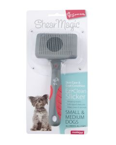 I154007-Shear Magic Ezi-clean Slicker For Small To Medium Dogs