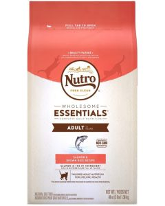I247342-Nutro Salmon & Whole Brown Rice Adult Cat Food 1.36kg