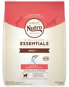 I247339-Nutro Salmon & Whole Brown Rice Adult Cat Food 6.35kg