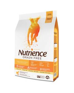I248342-Nutrience Grain Free Turkey Chicken & Herring Dog Food 10kg