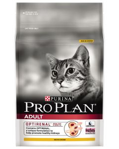 I247625-Pro Plan Chicken Cat Food With Optirenal 2.5kg