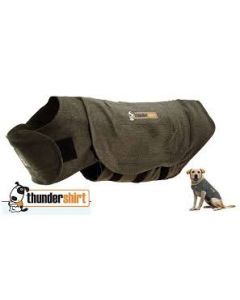 I249016-Thundershirt Grey Dog Calming Polo Medium