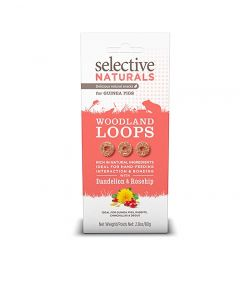 I246656-Selective Naturals Woodland Loops For Guinea Pigs With Dandelion & Rosehip