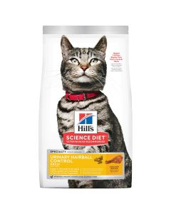 I176521-Hill's Science Diet Adult Urinary Hairball Control Cat Food Chicken 1.58kg