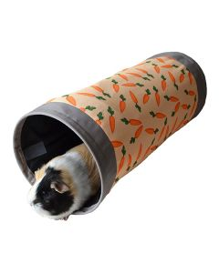 I251143-Rosewood Carrot Print Fabric Tunnel