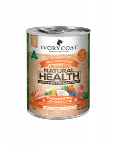 I250591-Ivory Coat Chicken Stew With Coconut Canned Dog Food 400g