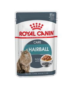 I169152-Royal Canin Hairball Care Pouch In Gravy 85g.
