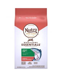 I253944-Nutro Salmon & Whole Brown Rice Adult Cat Food 2.27kg