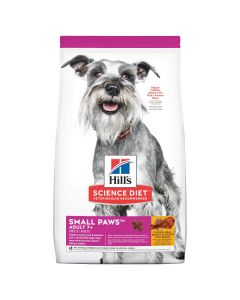 I250401-Hill's Science Diet 7+ Small Paws Senior Dry Dog Food 1.5kg