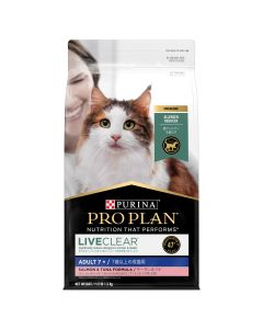 I255225-Pro Plan Liveclear Adult Cat 7+ Salmon And Tuna 1.5kg