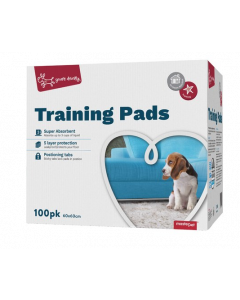 I248056-Yours Droolly Puppy Training Pads 100 Pack