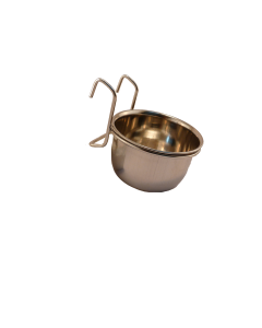 I248889-Chicken Coop Cup With Stainless Steel Holder 8cm