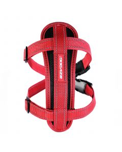 I249076-Ezydog Harness With Red Chest Plate For Large Dogs