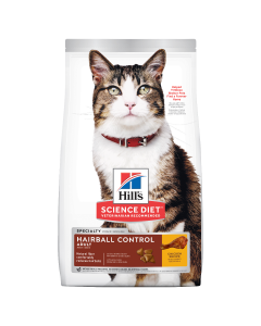 I247729-Hills Science Diet Hairball Control Cat Food 2kg