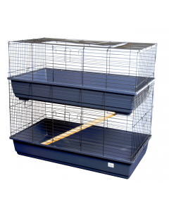 I150234-Two - Tier Small Animal Cage 100cm