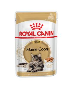 I236901-Royal Canin Maine Coon Cat Food Pouch 85g