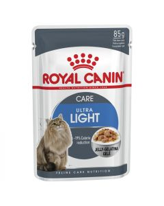 I247904-Royal Canin Ultra Light Cat Food In Jelly 85g