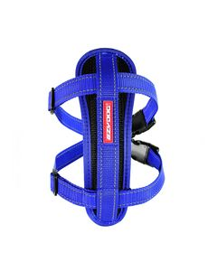 I249070-Ezydog Harness With Blue Chest Plate For Medium Dogs