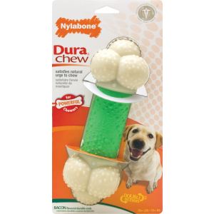 I104802-Nylabone Double Action Souper Dog Chew Toy