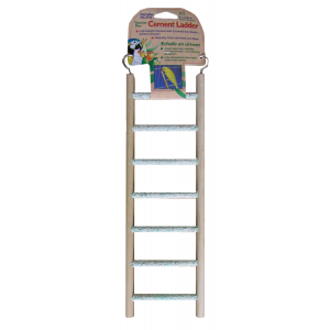 I248183-Penn Plax 7 Rung Cement Ladder