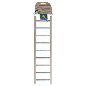 I248184-Penn Plax 9 Rung Cement Ladder