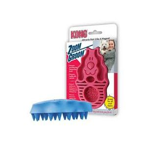I108238-Kong Zoom Groom Hard Brush For Dogs
