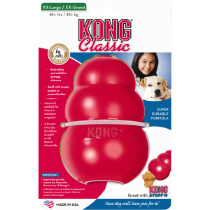 I249156-Kong Classic Red Medium Dog Toy