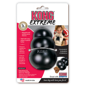 I249168-Kong Extreme King Black Dog Toy