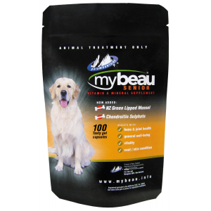 I114231-Mybeau Vitamin & Mineral Supplement For Senior Dogs 100x Capsules